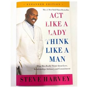 NEW STEVE HARVEY | BOOK